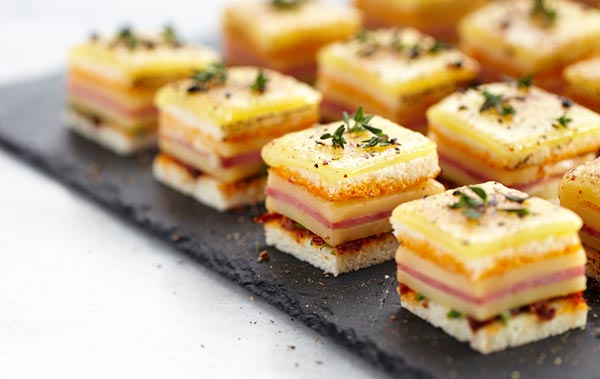home gourmet canapes
